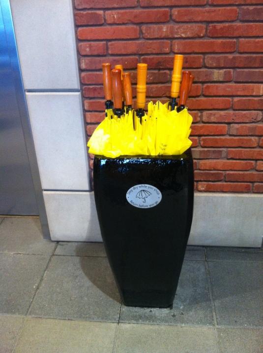 Free Umbrellas