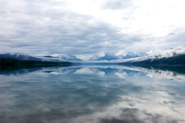 Lake McDonald in Glacier National Park in June 2012.