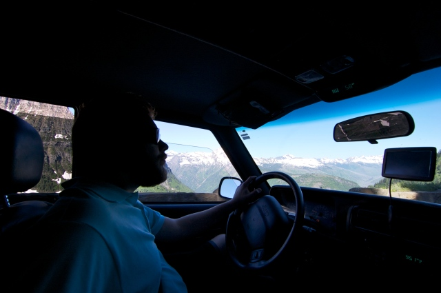 Jeff loved driving this road - you can see the incredible panoramic views we were treated to.