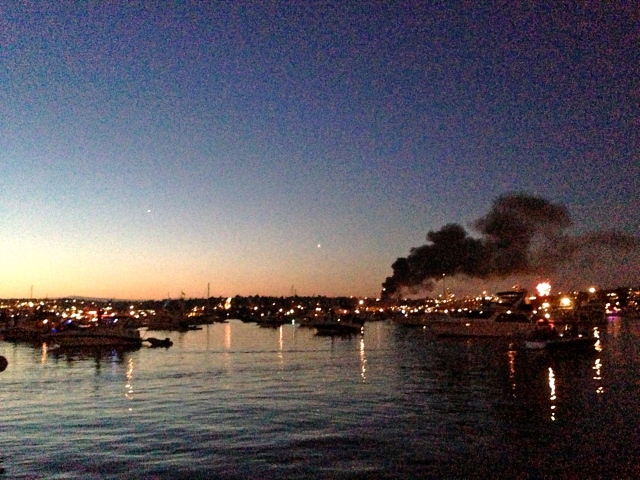 There was a fire on some boats in dry down in North Lake Union - fortunately no one was hurt, but $1.5 million in damages was done.