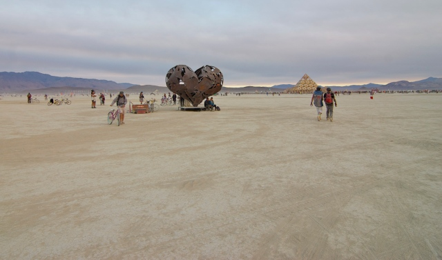 "The making of this sculpture is told in the Burning Man documentary, ""Spark"" that Jeff and I saw at the Seattle International Film Festival this year."