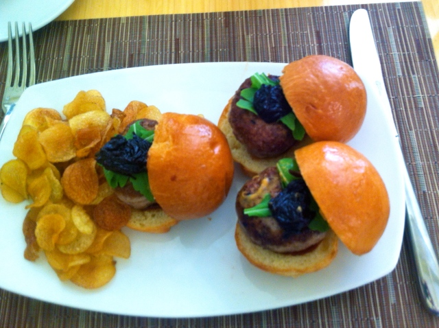 Branching out of our usual neighborhood restaurants to indulge in duck burger sliders at Tilth.