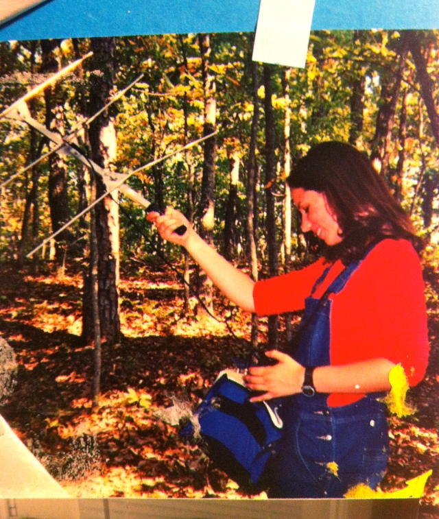 This is the only picture I could find from my snake tracking days. Sometime circa 2002?