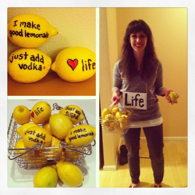 Get it? When life gives you lemons?