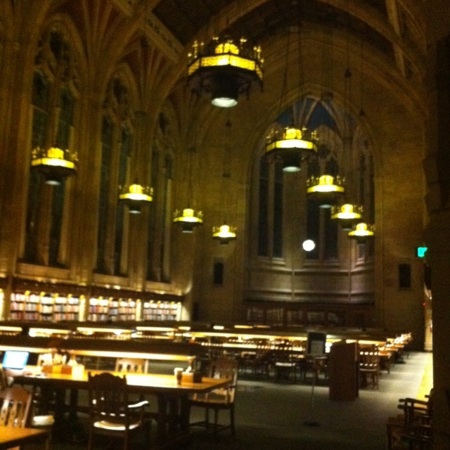 Suzzallo library on main campus makes me homesick for a certain Gothic Wonderland
