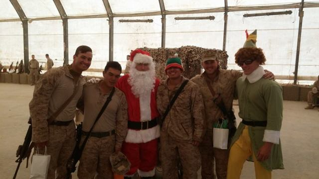 My little brother Graham is currently serving in Afghanistan (he's the second from the right). Here's hoping there's a Christmas miracle and they can all come home soon.