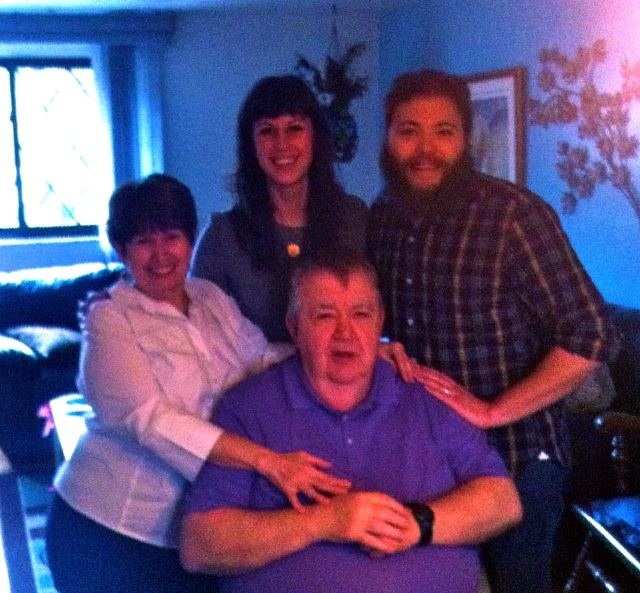 We also got to visit with Jeff's Aunt Joyce and Uncle Bill on New Year's Day. It was so much fun to catch up with y'all!