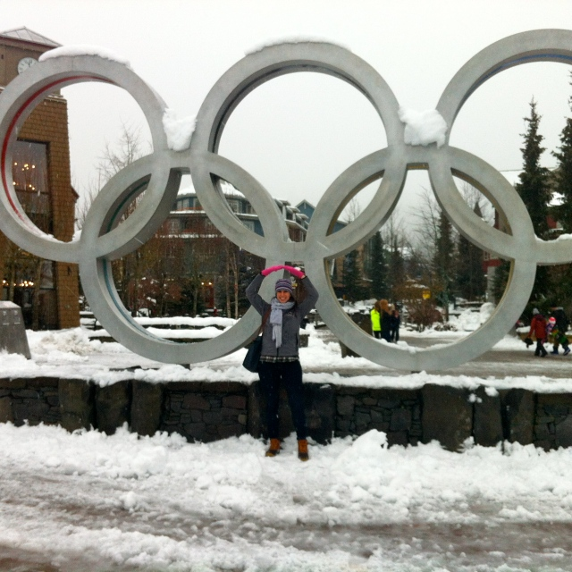 Whistler was the site of many of the 2010 Olympic events. I'm in love with all things Olympics (the basic reason we got cable was for the 2012 summer games). So excited that they start up again in a few weeks!