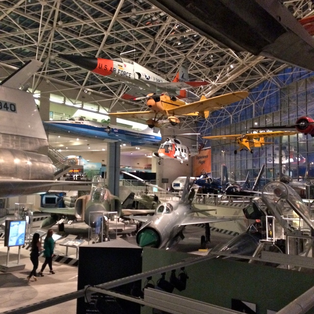 The museum was really cool and reminded me of the Smithsonian's National Air and Space one.