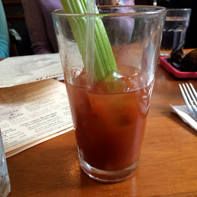 Well earned, delicious Bloody Mary