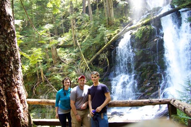 Nick, Graham and I