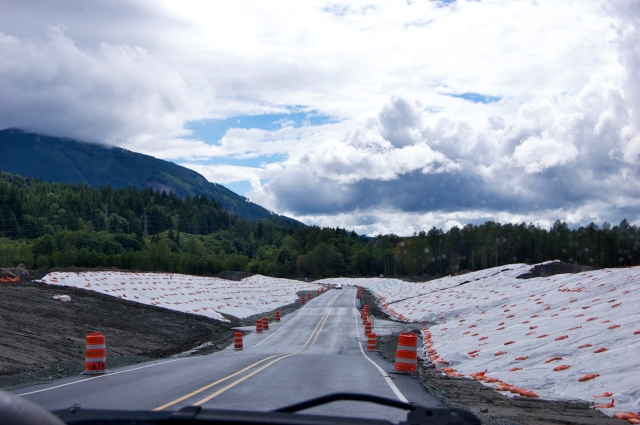 State Route 530, opened one week ago on June 20th.