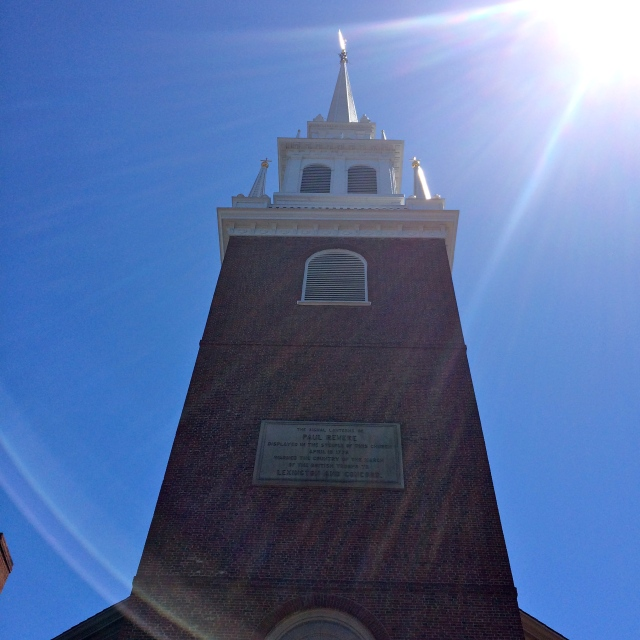 The Old North Church - of One if by Land, Two if By Sea fame.