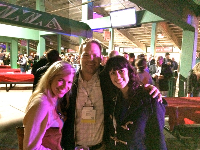 Pediatric Dentistry is a small group - it was so fun to know so many people and keep running into them again and again - like here with Chance and Allie at the AAPD Reception at Fenway on Friday.