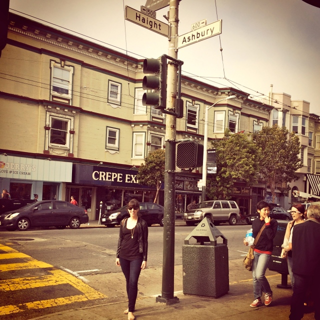 The only SF touristy thing I did was visit the Haight and Ashbury street districts with a bunch of other girls