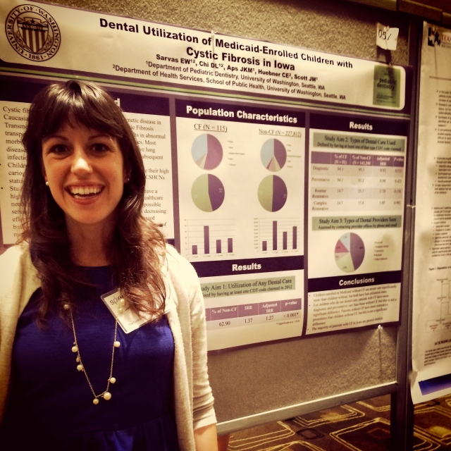 I even presented my thesis data at the Society for Perinatal and Pediatric Epidemiology Research conference in Seattle in June.