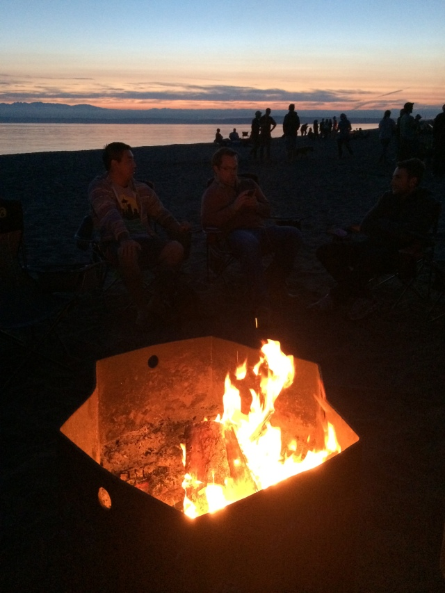 And sunsets and bonfires.