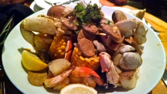 Mm.. Northwest seafood boil!