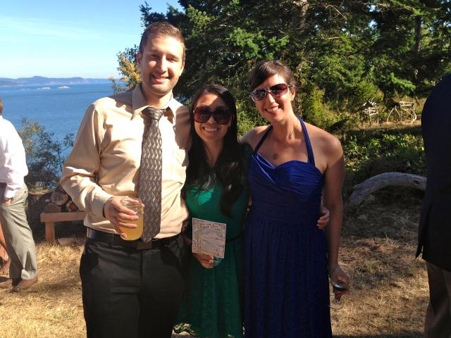Dental residents: Ian, Karen and I!