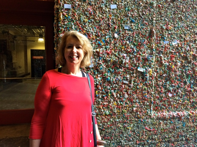 Gum wall - thoroughly disgusted