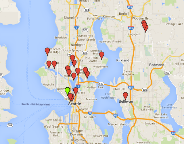 And a more specific Seattle-area one. We. Covered. Some. Ground.