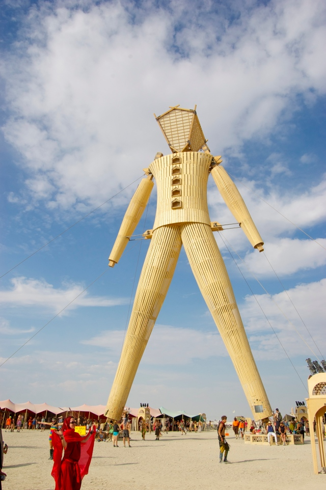 The Man - the tallest one they've ever built