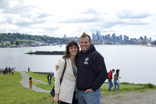 View of the city from Gas Works Park