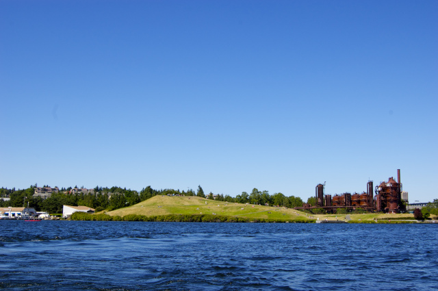 Gas Works Park from the water