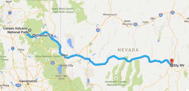 497 miles